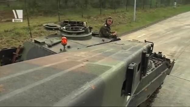 Bergepanzer 3 Buffel Armored Recovery Vehicle
