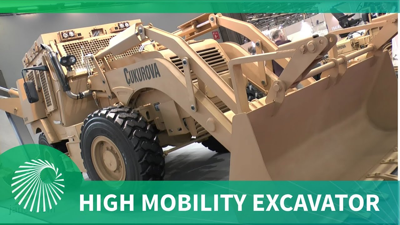 Çukurova Makina's recently launched chassis and high mobility excavator products