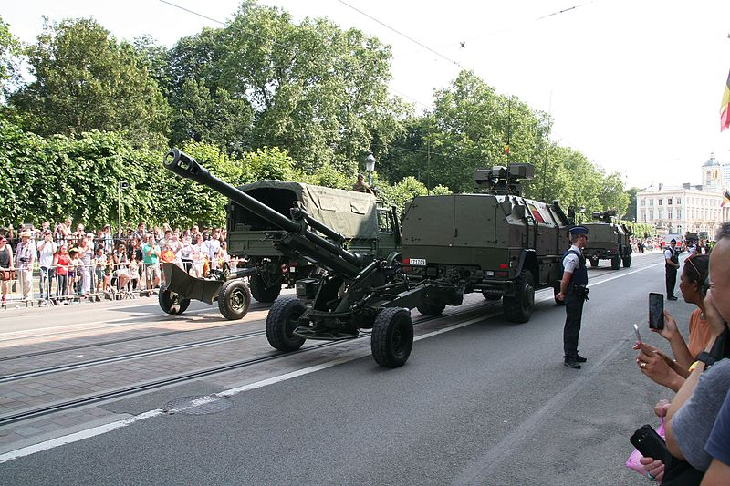 Nexter LG1 105 mm Light Towed Howitzer