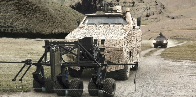 Iveco MPV Mine Resistant Ambush Protected Vehicle