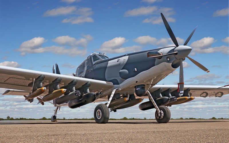 Air Tractor L3 Technologies AT-802L Longsword Light Attack Aircraft