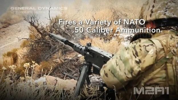 M2HB .50 caliber (12.7mm) Heavy Machine Gun