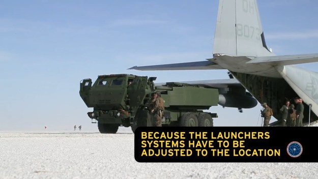 Marine HIMARS Training on White Sands Missile Range