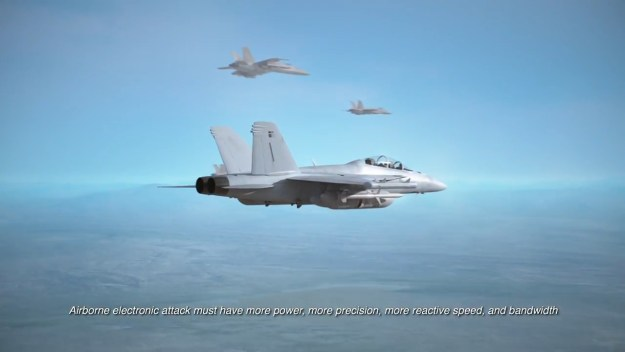 Raytheon - EA-18G Growler Aircraft Equipped With ALQ-249 Next Generation Jammer Mid-Band