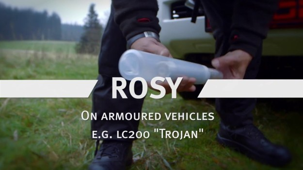 Rheinmetall ROSY_ Mod Protection System