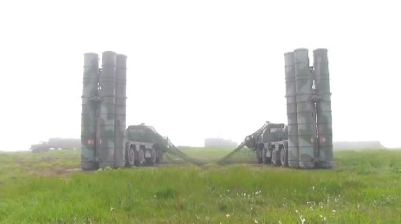 S-400 Triumph 40N6E High Speed Target Live Firing