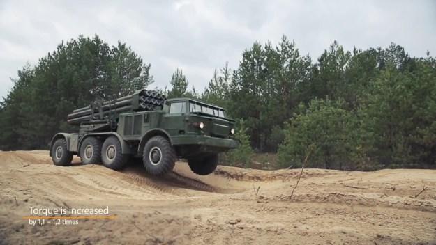 Techimpex BM-27 Uragan rocket launcher systems upgrade