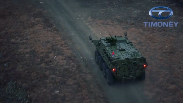 Timoney Technology offering development assistance to Armoured Vehicle Makers