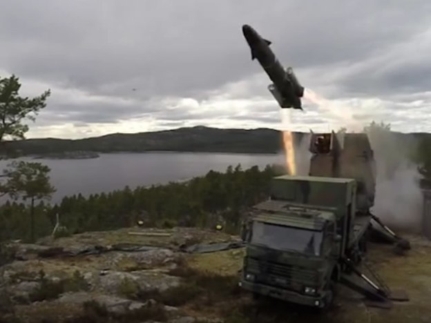 Swedish Navy Truck-Based RBS15 Coastal Defence Batteries