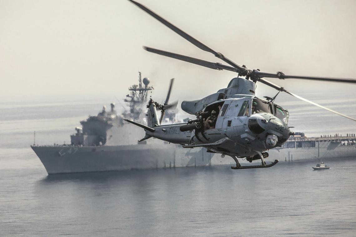 Bell UH-1Y Venom Super Huey Helicopter