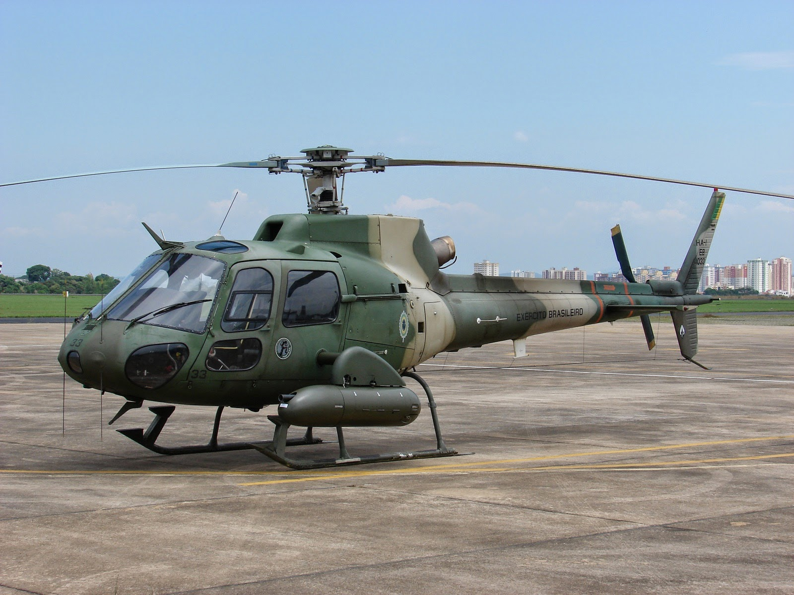 Brazilian Army Aviation Fennec Light Attack Helicopter ...