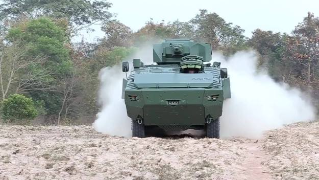 DTI AAPC  8x8 Amphibious Armoured Personnel Vehicle