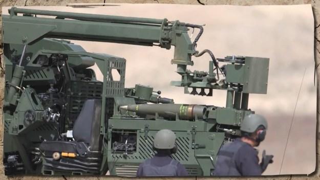 Elbit Systems ATHOS Autonomous Towed Howitzer System