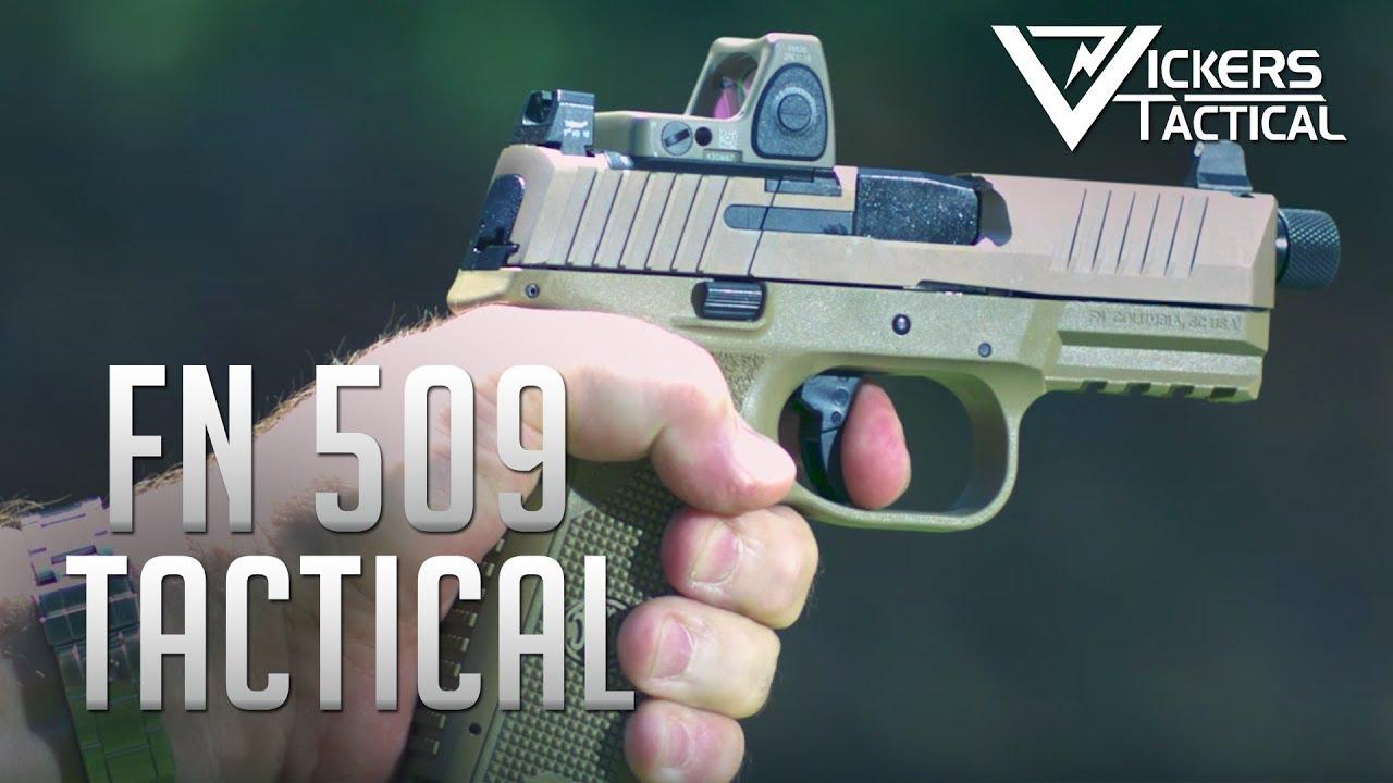 FN 509 Tactical 4k