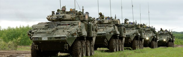 General Dynamics Land Systems - Light Armoured Vehicles LAV 6.0