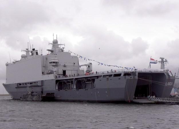 HNLMS Johan de Witt Landing Platform Dock (LPD)