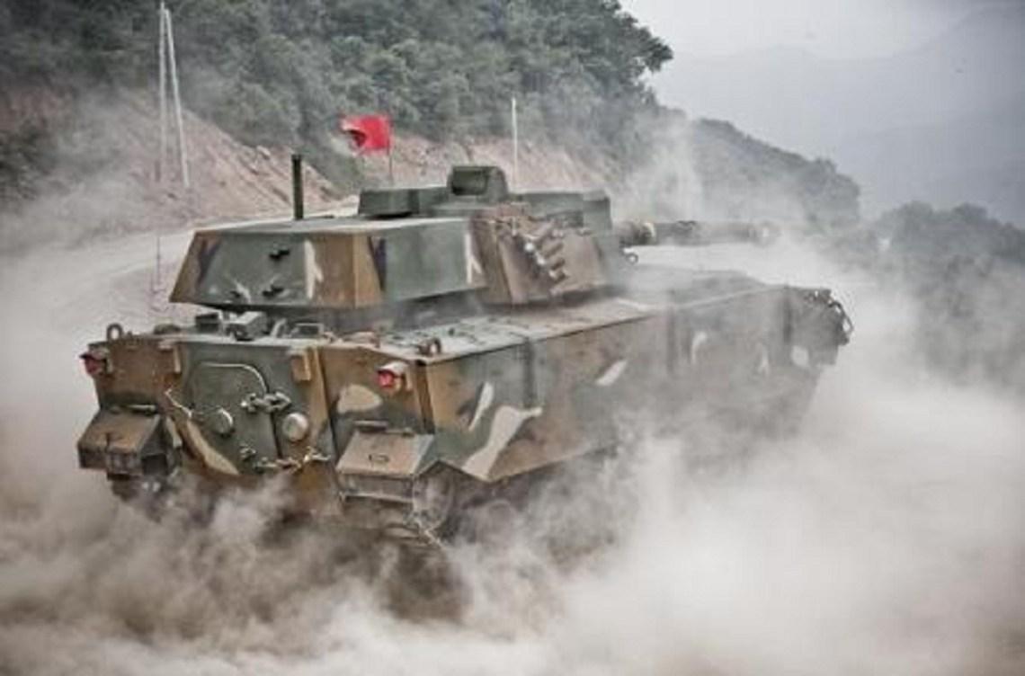 Hanwha Defense K21-105 Tank
