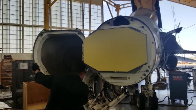 Northrop Grumman Performs Successful SABR Fit-Check on F/A-18C Fighter