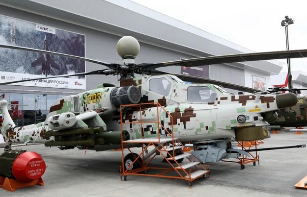 Russian Helicopter Mi-28NE Night Hunter