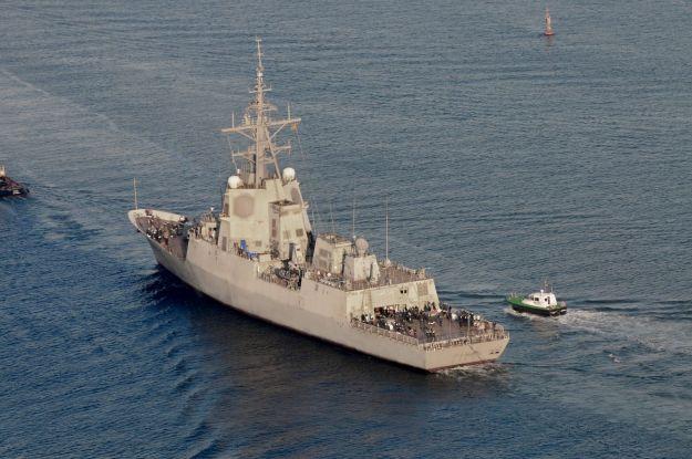 Spanish Navy Cristóbal Colón Frigate