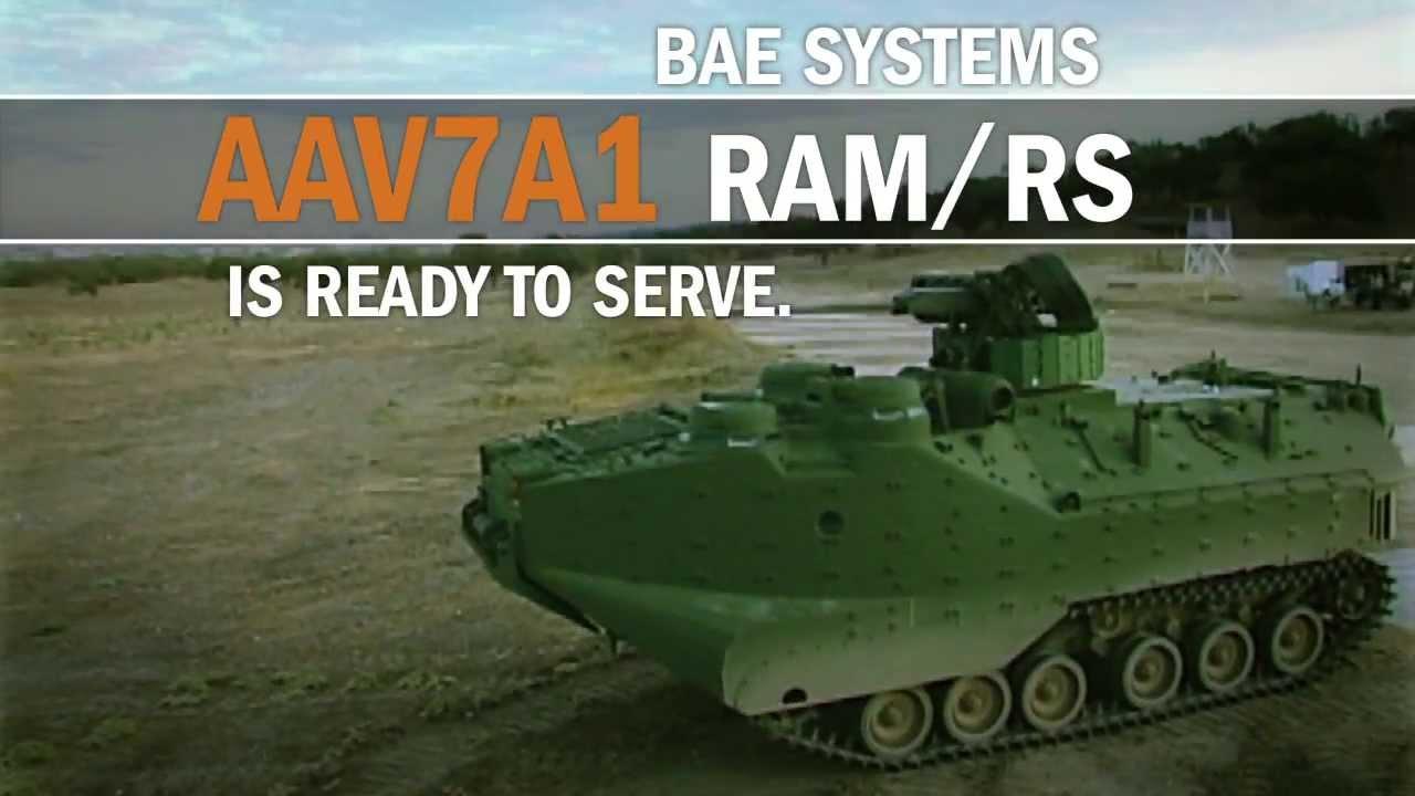 AAV7A1 RAM/RS Assault Amphibious Vehicle