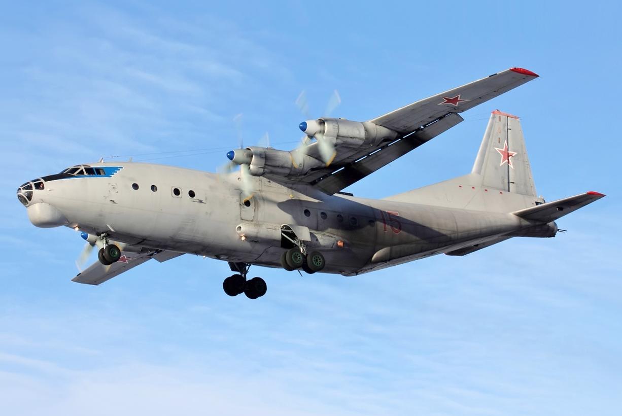Antonov An-12 Military Transport Aircraft