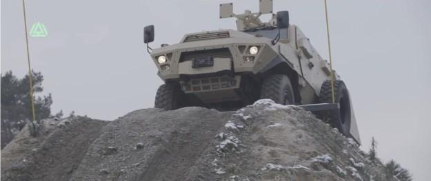 Arquus Bastion APC Armored Personnel Carrier