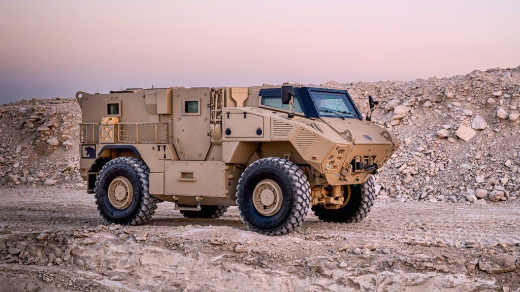 JAIS 4x4 MRAP Military Vehicle