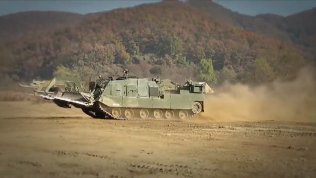 K600 Korean Combat Engineering Vehicle (KCEV)