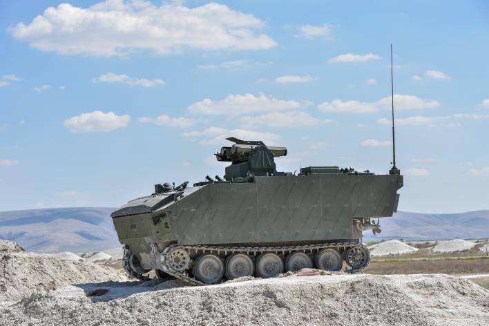 FNSS Kaplan Tracked Anti-Tank Vehicles