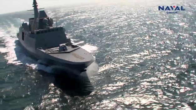 Naval Group FREMM multipurpose frigate