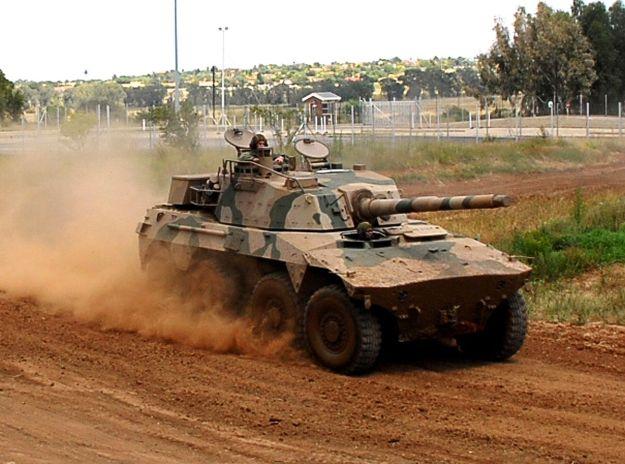 Rooikat Armoured Reconnaissance Vehicle