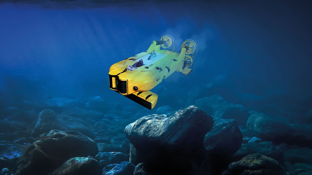 Saab Double Eagle Remotely Operated Vehicle (ROV)
