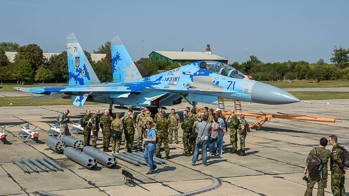 US Pilot Died in Sukhoi Crash in Ukraine