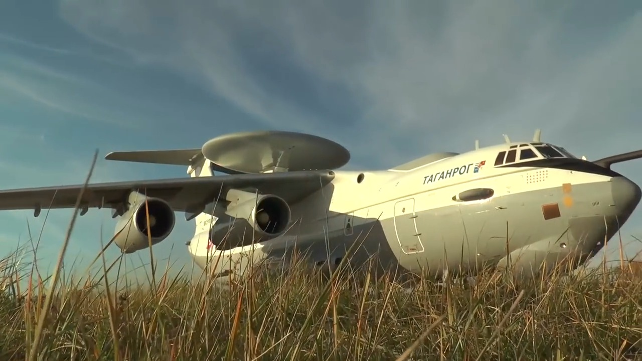 Beriev A-50U Airborne Early Warning and Control