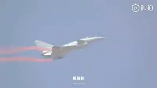 Chengdu J-10B TVC performed Cobra maneuver