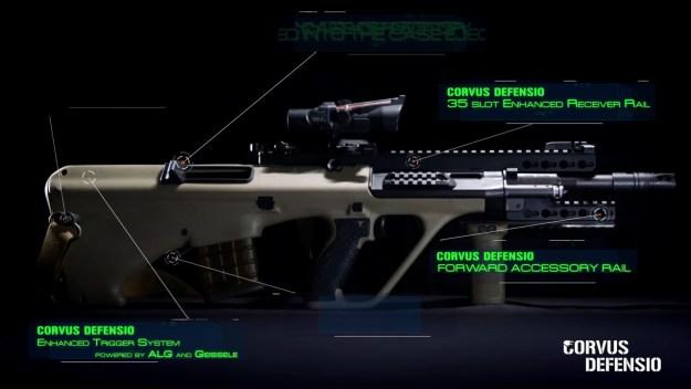 Crovus Defensio Steyr AUG Evolution Kit