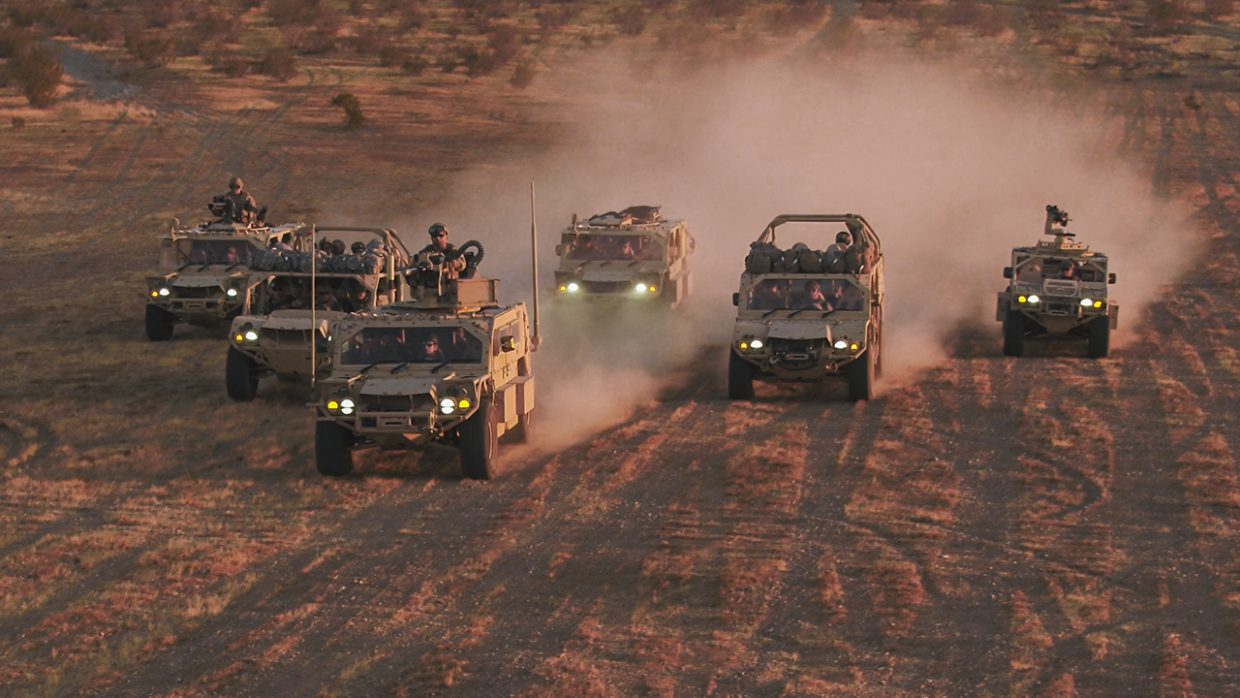 Flyer 72 Lightweight Tactical Vehicles Family