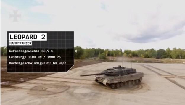 German Army - Leopard 2A6 Main Battle Tank