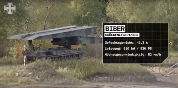 German Army - Biber Armoured vehicle-launched bridge