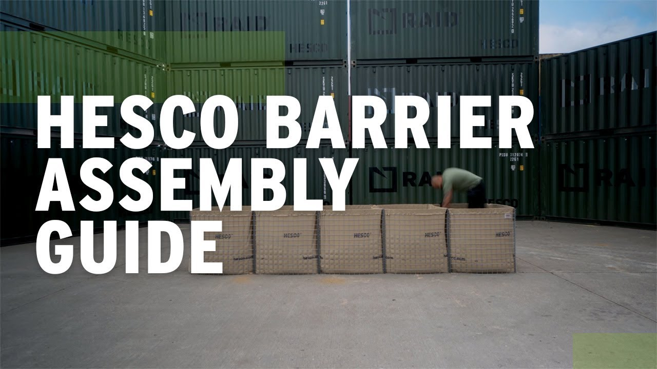 HESCO Barrier: Mil Units