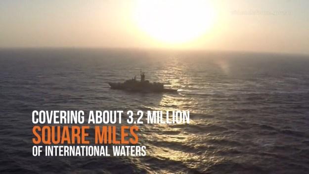 HMAS Ballarat arrives in the Middle East Region