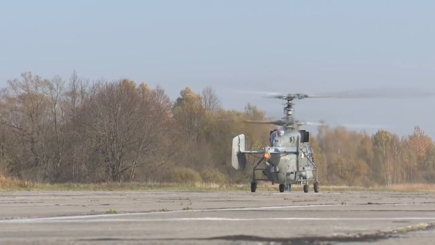 Ka-27M Naval Helicopter Makes Maiden Flight