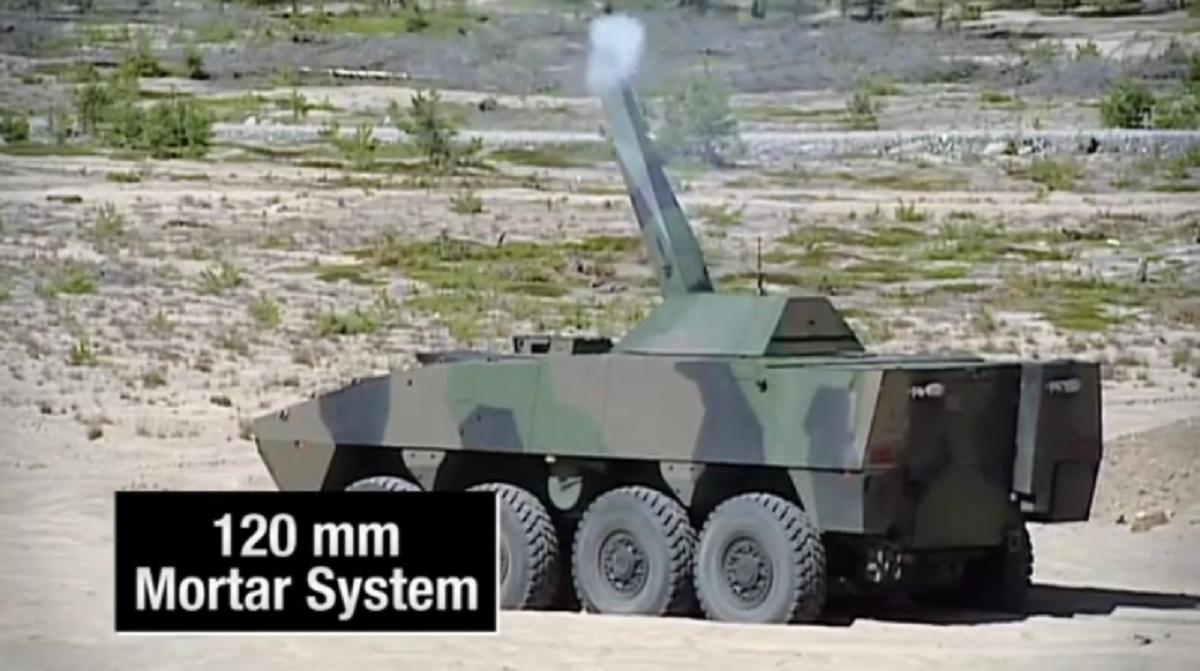 Patria AMV (Armored Modular Vehicle)