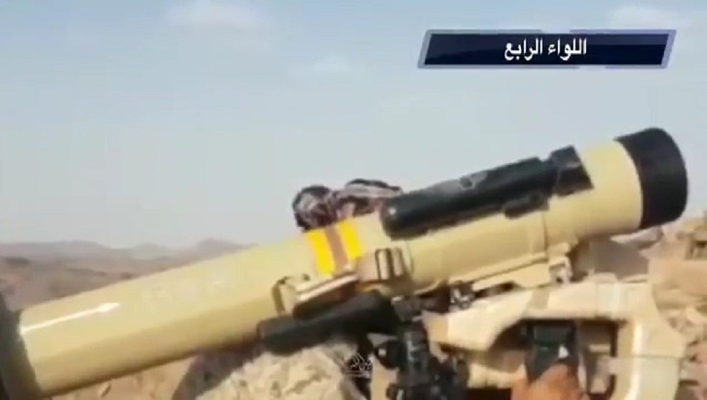 Raybolt ATGM destroys enemy vehicle In Yemen