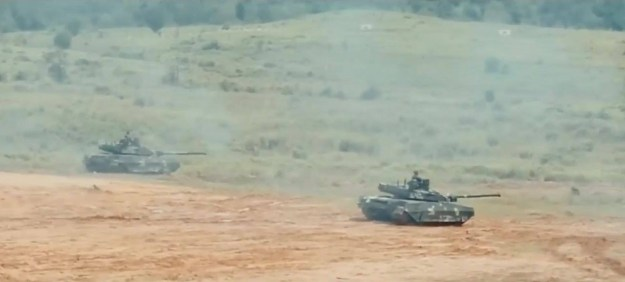 Royal Thai Army T-84 Oplot-T Main Battle Tank