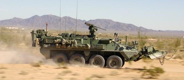 Stryker Engineer Squad Vehicle (ESV)
