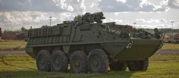 Stryker Infantry Carrier Vehicle Double-V Hull (ICV DVH)