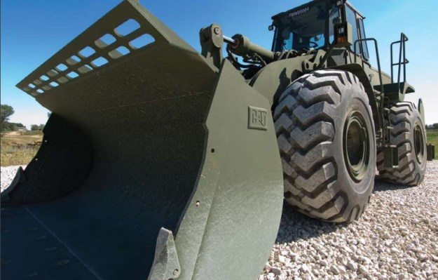 Cat Armored 966H Wheel Loader
