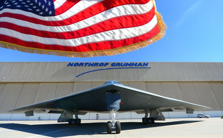 Northrop Grumman B-21 Raider stealth strategic bomber